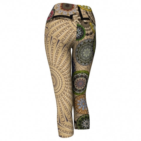 Urbanite Charleston Yoga Capris back