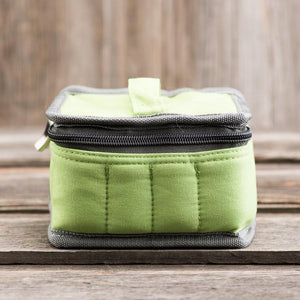 Medium Durable Green Essential Oil Carrying Case