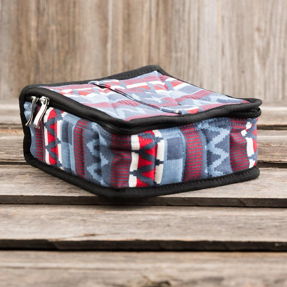 Large Durable Aztec Print Essential Oil Carrying Case