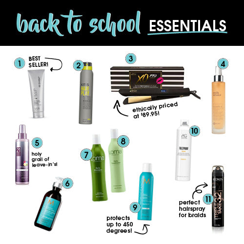 Back To School Essentials - Glam Style!