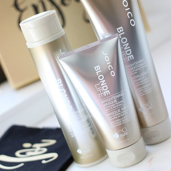 Shine Brightly with Joico Blonde Life