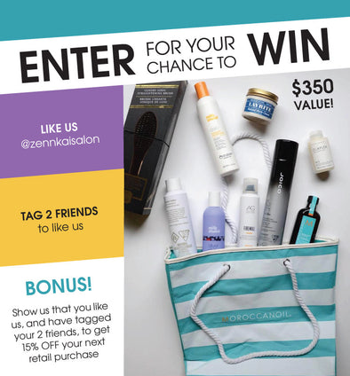 CONTEST: Enter to Win Haircare Package Worth $350