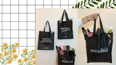 Zennkai's Reusable Canvas Bags!