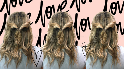 Romantic Valentines Day Hair Styles!