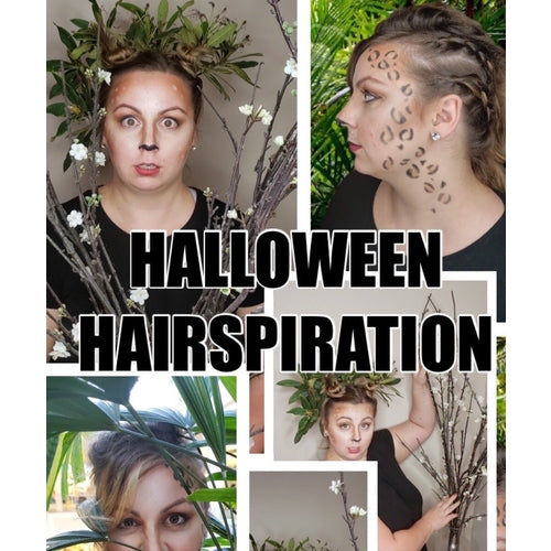Our Favorite Halloween Looks And The Hairstyle How-To's!