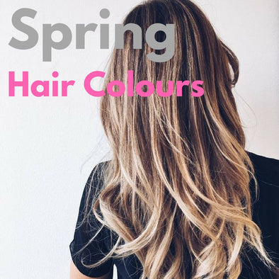 Spring Hue: Our Top 5 Hair Colours for Spring