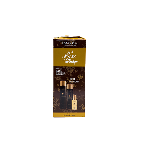 L'Anza Keratin Healing Oil Holiday Pack