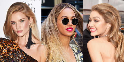 top five hair colours for spring