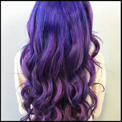 Salon Purple Hair