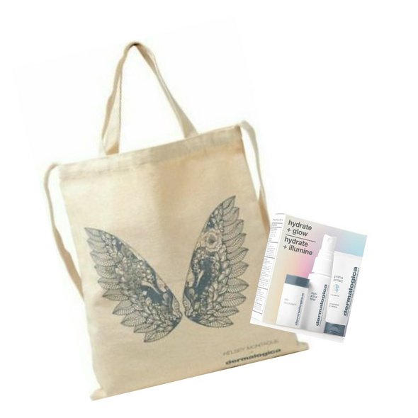 Dermalogica Hydrate and Glow Tote Set
