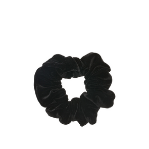 Scrunchie - Black Velvet