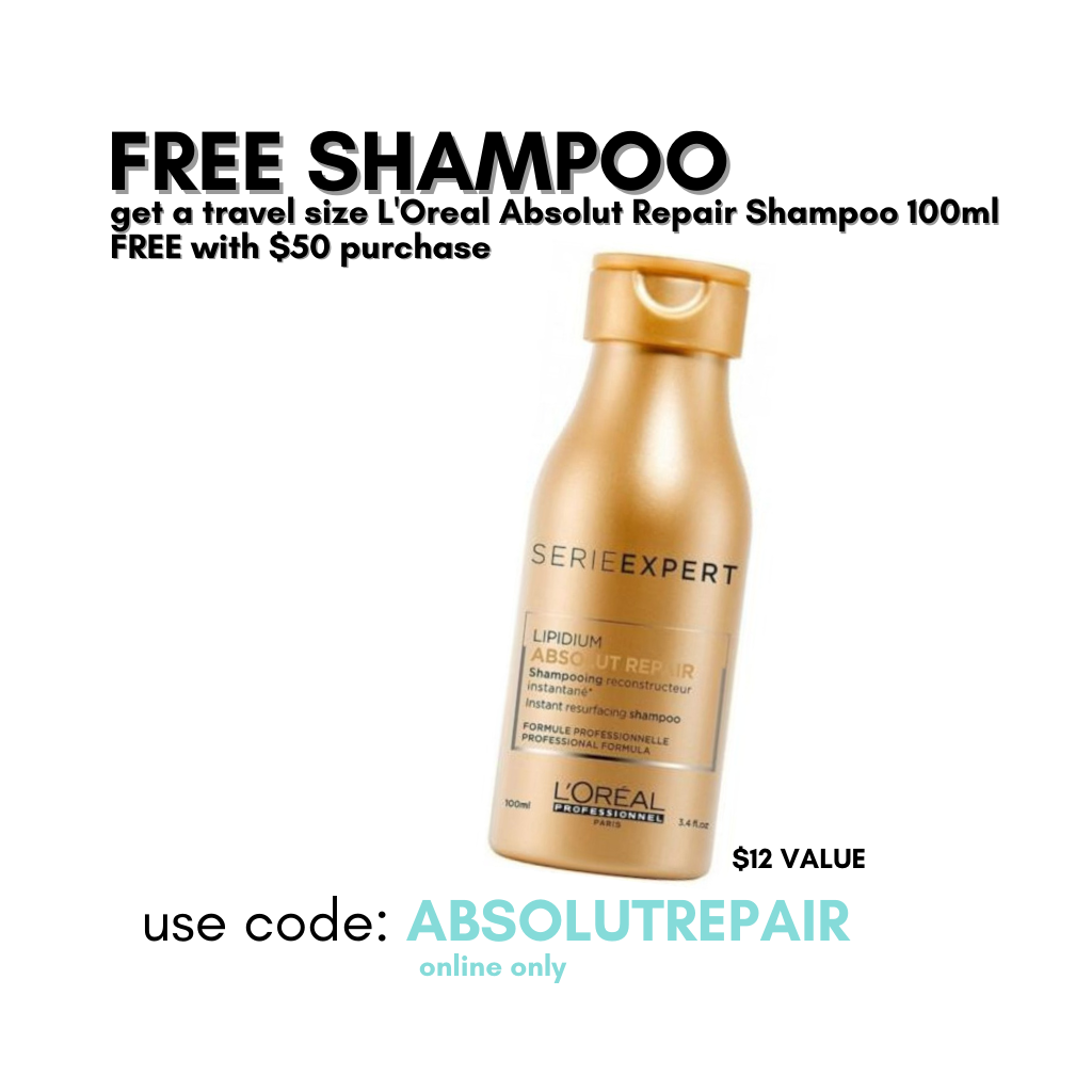 L'Oreal Gold Quinoa Absolut Repair Shampoo 100ml