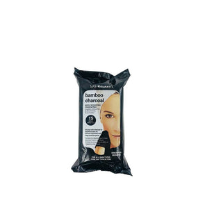 Relaxus Bamboo Charcoal Facial Wipes 15/pack