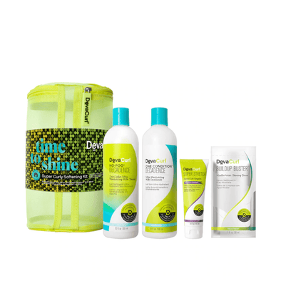 Devacurl Time to Shine Super Curly Softening Holiday Pack