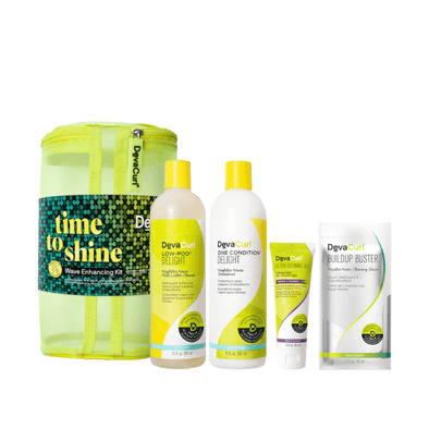 Devacurl Time to Shine Wave Enhancing Holiday Pack
