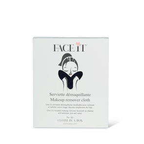 Cloth in a Box FACE IT Make-up Remover and Cleanser Towel