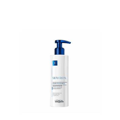 L'Oreal Serioxyl Clarifying & Densifying Shampoo for Coloured Hair 250ml