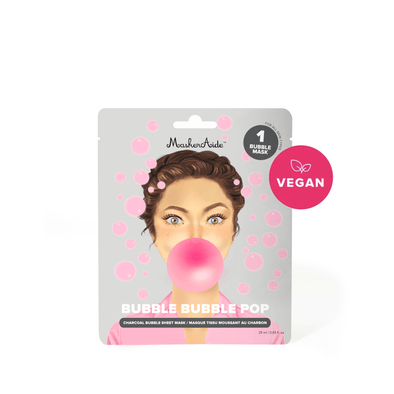 Maskeraide Bubble Bubble Pop Pore Cleansing Charcoal Bubble Mask