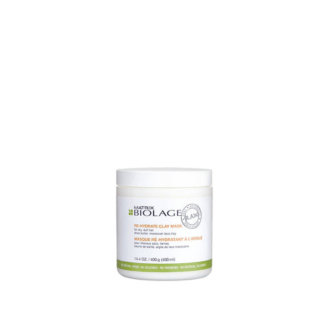 Biolage R.A.W. Re-hydrate Clay Mask 400ml