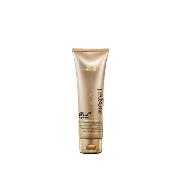 L'Oreal Gold Quinoa & Protein Absolut Repair Blow Dry Cream 125ml