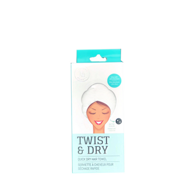 Relaxus Beauty Twist & Dry Quick Drying Hair Towel