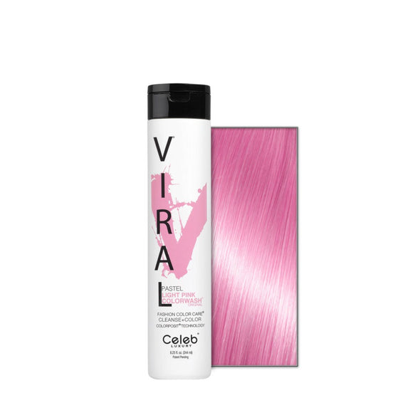 Celeb Luxury Viral Colorwash Pastel Light Pink 244ml