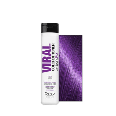 Celeb Luxury Viral Colorditioner Purple 244ml