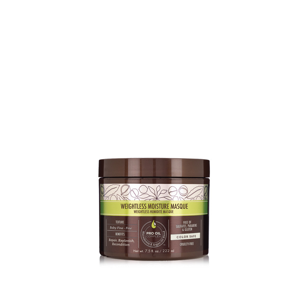 Macadamia Weightless Moisture Masque 222ml