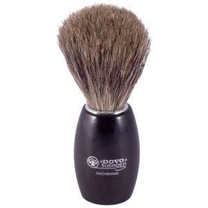 Dovo Grenadille Wood Pure Badger Hair Shaving Brush - 918 117 - Jimmy Figg's Bare-knuckle Barber - Beard/Shaving Product - 1