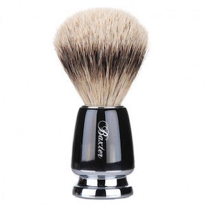 Baxter of California Silver Tip Badger Hair Shave Brush - Jimmy Figg's Bare-knuckle Barber - General