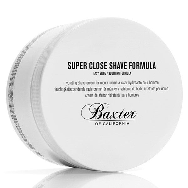 Baxter of California Super Close Shave Formula - Jimmy Figg's Bare-knuckle Barber - Beard/Shaving Product