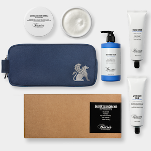 Baxter of California Shaver's Skin Care Kit - Jimmy Figg's Bare-knuckle Barber - Beard/Shaving Product
