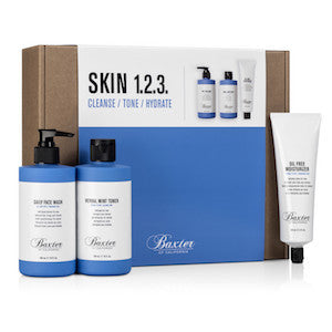 Baxter of California Skin Care 1. 2. 3. Kit - Jimmy Figg's Bare-knuckle Barber - General