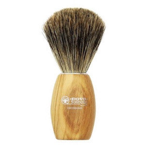 Dovo Olive Wood Pure Badger Hair Shaving Brush - 918 106 - Jimmy Figg's Bare-knuckle Barber - Beard/Shaving Product