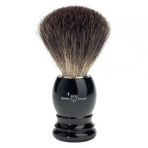 Edwin Jagger Best Badger Shaving Brush 81P26 Ebony - Jimmy Figg's Bare-knuckle Barber - Beard/Shaving Product