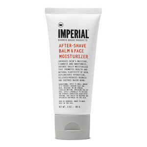 Imperial Barber Aftershave Balm and Face Moisturiser - Jimmy Figg's Bare-knuckle Barber - Beard/Shaving Product