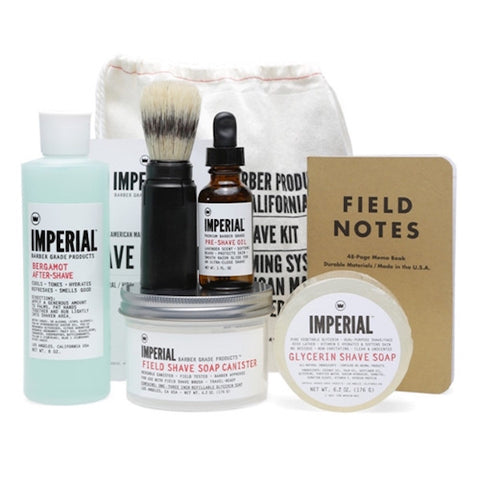 Imperial Barber Field Shave Kit - Jimmy Figg's Bare-knuckle Barber - Beard/Shaving Product - 1