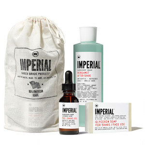 Imperial Barber Shave Bundle - Jimmy Figg's Bare-knuckle Barber - Beard/Shaving Product