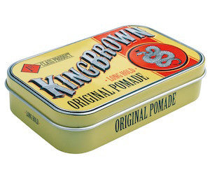 King Brown Original Pomade - Jimmy Figg's Bare-knuckle Barber - Hair product