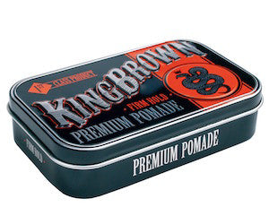 King Brown Premium Pomade - Jimmy Figg's Bare-knuckle Barber - Hair product