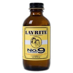 Layrite No. 9 Bay Rum Aftershave - Jimmy Figg's Bare-knuckle Barber - Beard/Shaving Product