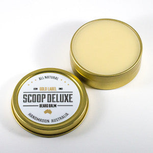 Scoop Deluxe Beard Balm Gold Label - Jimmy Figg's Bare-knuckle Barber - Beard/Shaving Product