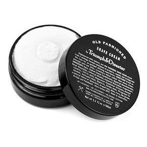Triumph & Disaster Old Fashioned Shave Cream 100ML Jar - Jimmy Figg's Bare-knuckle Barber - Beard/Shaving Product