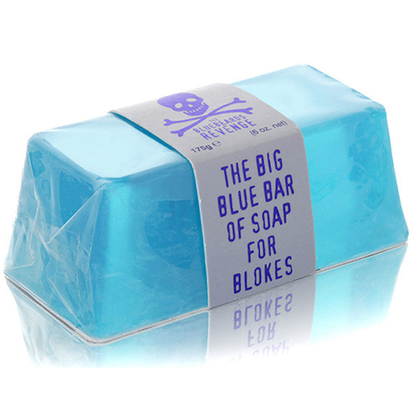 The Bluebeards Revenge Big Blue Soap for Blokes - Jimmy Figg's Bare-knuckle Barber - General