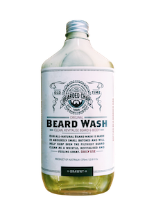 Bearded Chap Brawny Original Beard Wash - Jimmy Figg's Bare-knuckle Barber - Beard/Shaving Product