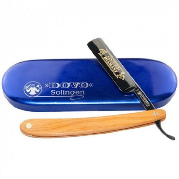 Dovo Diamant Cutthroat Straight Razor with Black Blade - 115 5861