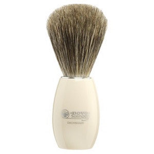Dovo Ivory Pure Badger Hair Shaving Brush - 918 118 - Jimmy Figg's Bare-knuckle Barber - Beard/Shaving Product