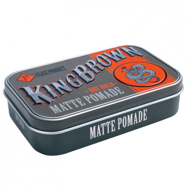 King Brown Matte Pomade - Jimmy Figg's Bare-knuckle Barber - Hair product