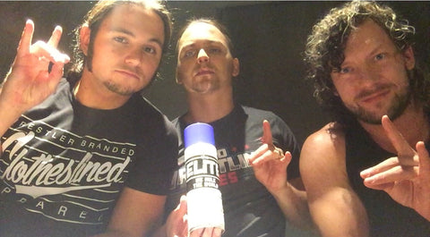 The Elite Autographed Cold Spray Can & 8x10