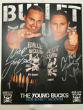 Young Bucks Bullet Club 8x10 Autographed